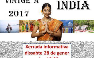 Xerrada Informativa Viatge Índia 2017