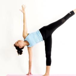Yoga en Barcelona: posturas de yoga ARDHA CHANDRASANA