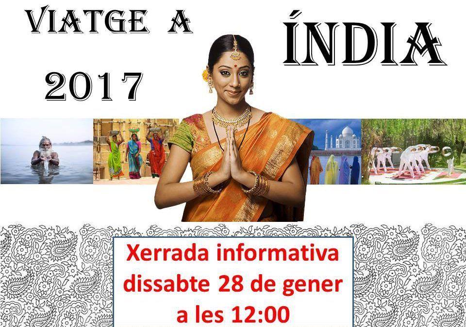 Charla Informativa del viaje a la India